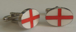England Country Flag Cufflinks
