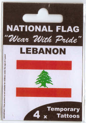 Lebanon Flag Tattoo Pictures to Pin on Pinterest - TattoosKid