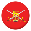 Military Button Badges - 25mm