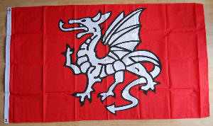 Anglo Saxon Flag http://www.madaboutflags.co.uk/pendragon-anglo-saxon-large-flag---5-x-3-9573-p.asp