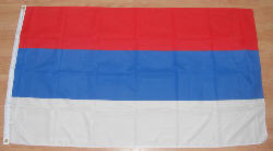 Serbia Large Country Flag - 5' x 3'.