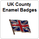 UK County Enamel Badges