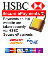 Secure payment via HSBC