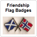 Friendship Flag Badges