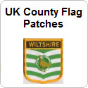 UK County Flag Patches