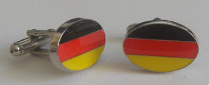 Germany Country Flag Cufflinks