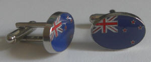 New Zealand Country Flag Cufflinks