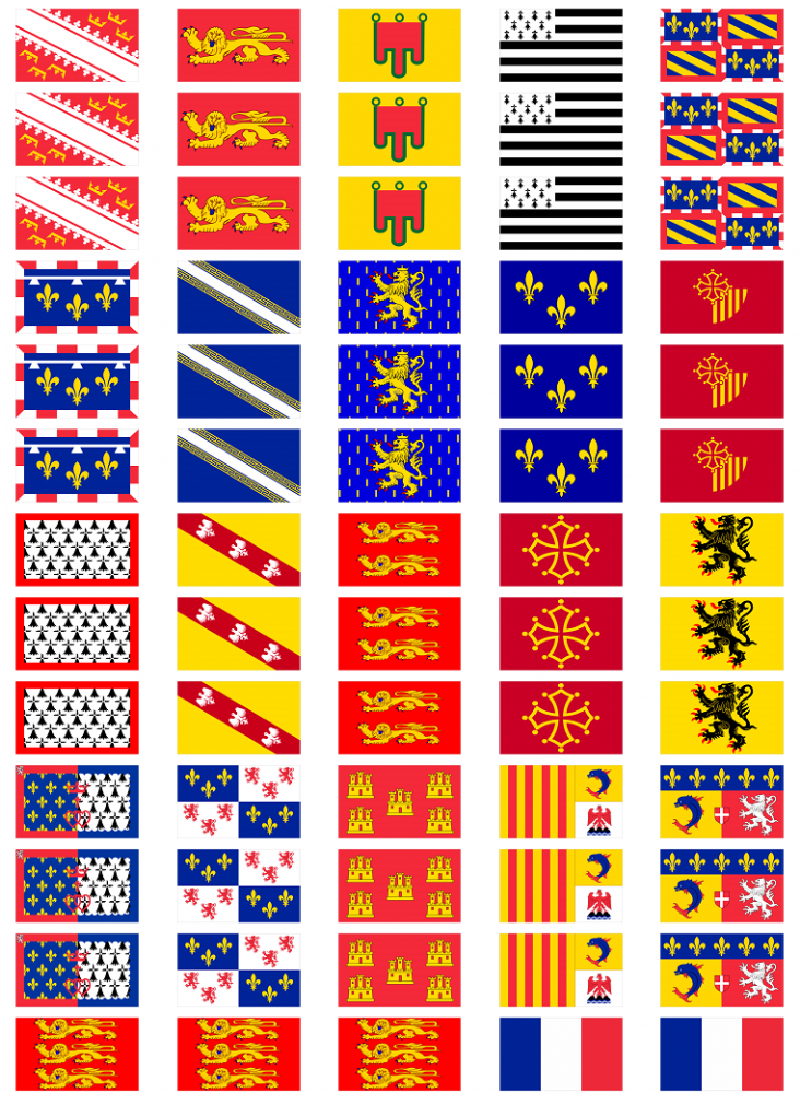 Great Britain Flag Stickers rectangular 21 or 65 per sheet