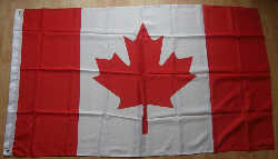 Canada Large Country Flag - 3' x 2'.