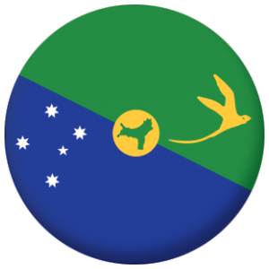 Christmas Island Flag 58mm Bottle Opener