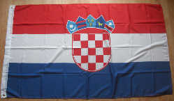 Croatia Large Country Flag - 5' x 3'.