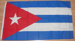 Cuba Large Country Flag - 3' x 2'.
