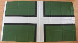 Devon Large Country Flag - 5' x 3'.
