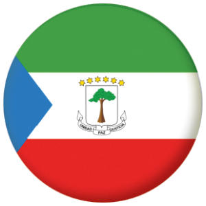Equatorial Guinea Country Flag 58mm Mirror