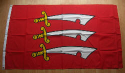 Essex Large Country Flag - 5' x 3'.