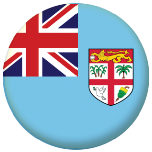 Fiji Country Flag 58mm Mirror