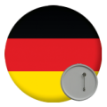 Germany Button Badges - 58mm