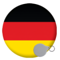 Germany Keyrings - 58mm