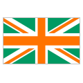 Great Britain Green and Orange