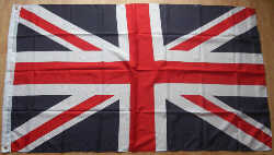 Great Britain Union Jack Large Country Flag - 3' x 2'.