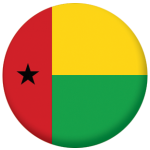 Guinea-Bissau Country Flag 58mm Mirror