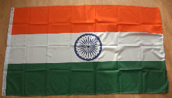 India Large Country Flag - 8' x 5'.