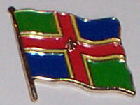 Lincolnshire Country Flag Enamel Pin Badge