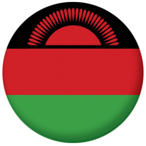 Malawi Country Flag 58mm Bottle Opener.