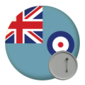 Military Button Badges - 58mm