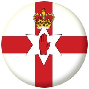 Northern Ireland Country Flag 58mm Mirror