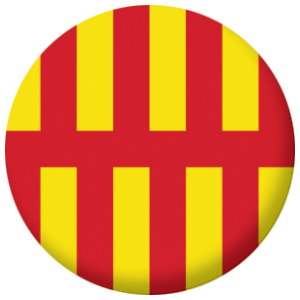 Northumberland County Flag 58mm Fridge Magnet