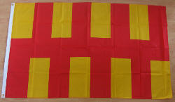 Northumberland Large Country Flag - 5' x 3'.