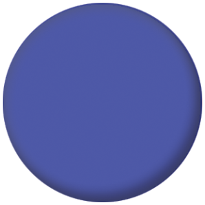 Plain Blue 25mm Pin Button Badge