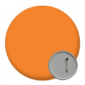 Plain Coloured Button Badges - 58mm