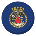 Rest of Europe Button Badges - 25mm