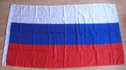 Russia Large Country Flag - 3' x 2'.