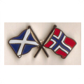 Scotland Friendship Flag Badges
