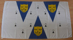 Shropshire Large Country Flag - 5' x 3'.