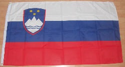 Slovenia Large Country Flag - 3' x 2'.