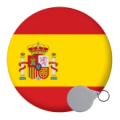 Spain Keyrings - 58mm
