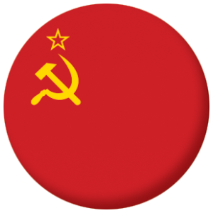USSR Country Flag 58mm Mirror
