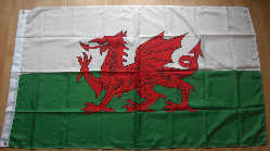 Wales / Welsh Large Country Flag - 8' x 5'.